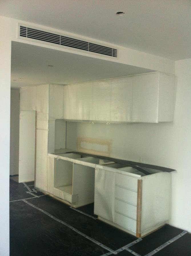 Level 9 apartment fit out